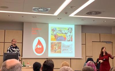 Zprava Klárka, prezentace a já :-)