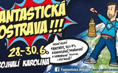 """Festival pop-kultury """"Fantastická Ostrava"""" -  1. ročník 20198"""