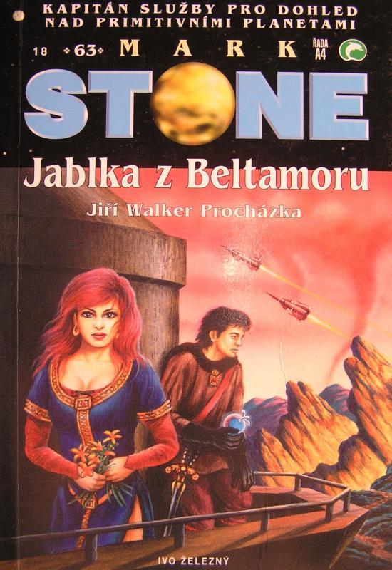 """Můj příspěvek do knižní série """"Mark Stone"""""""