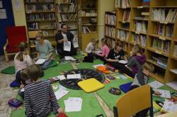 Čtenářská pohoda a předvánoční klídek ve čtenářském klubu