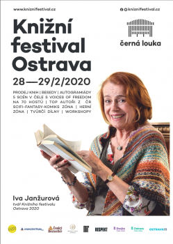 Knižní festival Ostrava - únor 2020