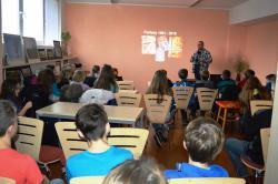 Knihovna Sedlčany a dvojitý zásah :-) 1. a 2. stupeň ZŠ