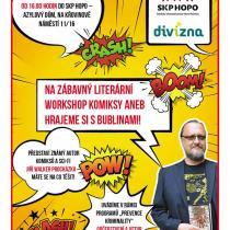 Komiksový workshop pro děti v azylovém domě a v Divizně