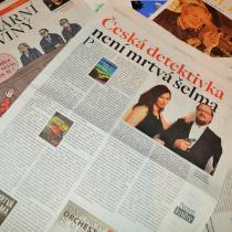 Česká detektivka není mrtvá šelma - článek Ivana Matějky v srpnovém vydání Literárních novin