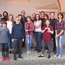 Účastníci Walkerovy literární dílny